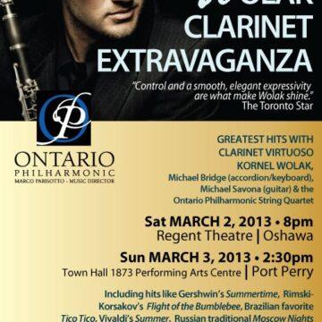 Wolak Clarinet Extravaganza